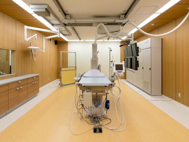 心臓カテーテル室