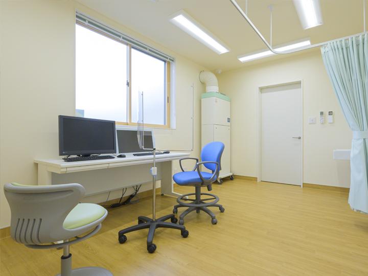 感染症外来棟診察室